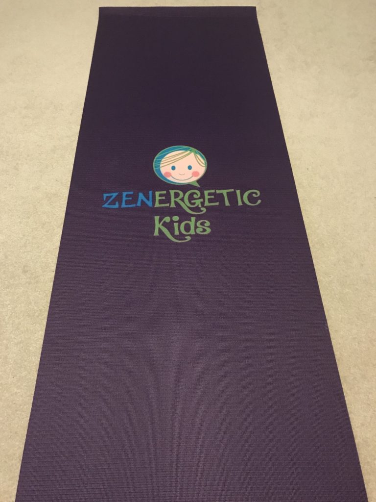 Zenergetic Kids Yoga Mat